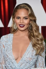 Chrissy Teigen 87th Annual Academy Awards - People Magazine Arrivals